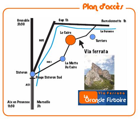 La Motte du Caire est située au nord est de Sisteron, dans les Alpes de haute Provence